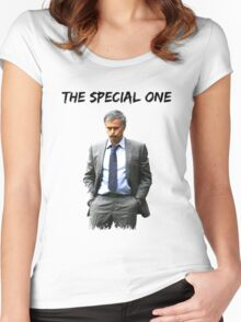 Jose Mourinho The Special one  (Red T-shirt, Phone Case & more) Women's Fitted Scoop T-Shirt