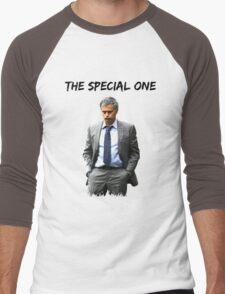 Jose Mourinho The Special one  (Red T-shirt, Phone Case & more) Men's Baseball ¾ T-Shirt