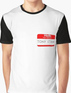 Are you Tony Stank? Graphic T-Shirt