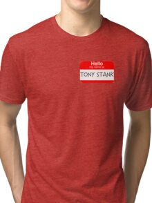 Are you Tony Stank? Tri-blend T-Shirt