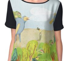 Dream landscape Chiffon Top