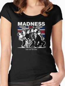 MADNESS : ONE STEP BEYOND Women's Fitted Scoop T-Shirt
