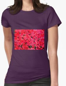 Fields of Fire Womens Fitted T-Shirt
