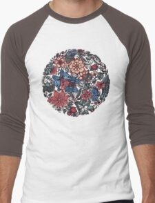 Circle of Friends in Colour Men's Baseball ¾ T-Shirt