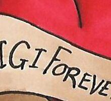 Gigi Forever Sticker