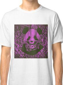 Purple Gangsta Panda Classic T-Shirt