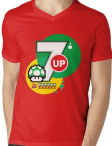 The 7 lives of Mario Mens V-Neck T-Shirt