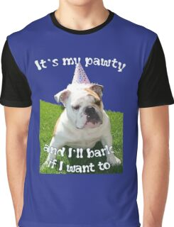 It's My Pawty  Graphic T-Shirt