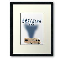 Breaking Bad RV smoke Framed Print