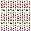 Cupcake Tile by geeksweetie
