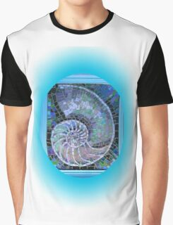Mosaic shell, fibonacciNatures beauty,  Graphic T-Shirt