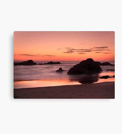 Mystery Beach Canvas Print