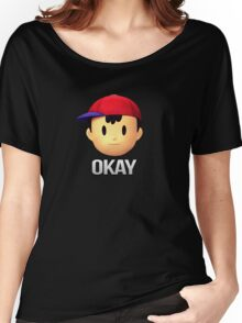 Ness - Okay Women's Relaxed Fit T-Shirt