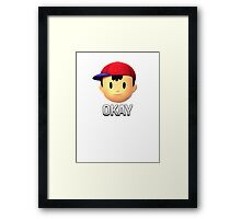 Ness - Okay Framed Print