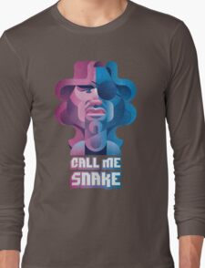 Snake Plissken (Escape From New York) Long Sleeve T-Shirt