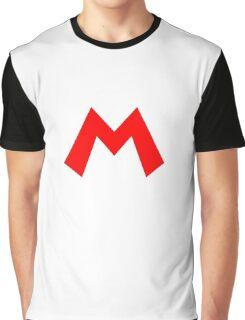 Mario Symbol Graphic T-Shirt