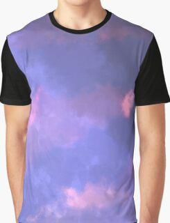 Soft Pastel Purples Graphic T-Shirt