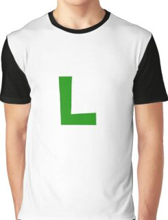 Luigi Symbol Graphic T-Shirt