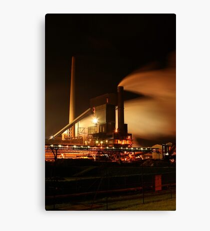 Steelworks Canvas Print