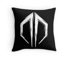 Destroid Logo Throw Pillow
