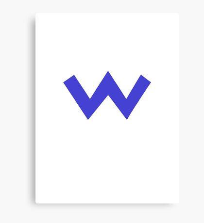 Wario Symbol Canvas Print