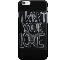 I WANT YOUR LOVE / TOM FORD + LADY GAGA iPhone Case/Skin