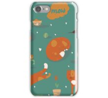 Ginger cats iPhone Case/Skin