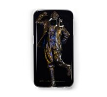 Eric Morecambe statue by night Samsung Galaxy Case/Skin