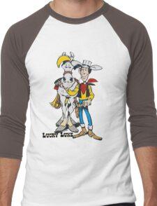 luckyluke Men's Baseball ¾ T-Shirt
