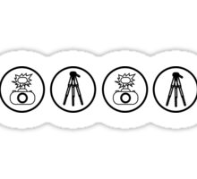 Camera kit icons Sticker