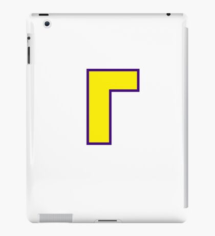 Waluigi Symbol iPad Case/Skin