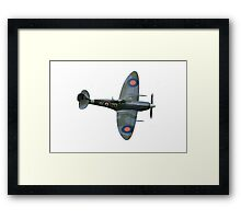 World War ll Spitfire Aircraft Framed Print