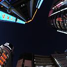 Looking up in Tokyo by Christian Eccleston