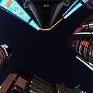 Looking up in Tokyo 2 by Christian Eccleston