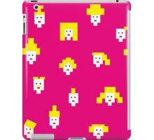 Blond and pink iPad Case/Skin