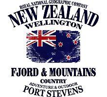 New Zealand Photographic Print