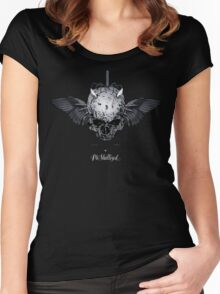 WingedSkull Women's Fitted Scoop T-Shirt