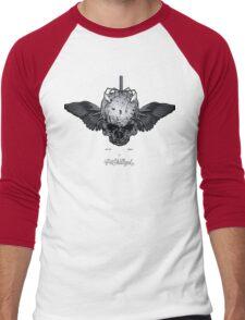 WingedSkull Men's Baseball ¾ T-Shirt