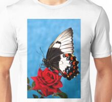 Butterfly Rose Unisex T-Shirt