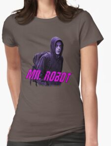 Mr.Robot's Club Womens Fitted T-Shirt