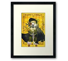 Aristocratic Oz - Pandora Hearts Framed Print