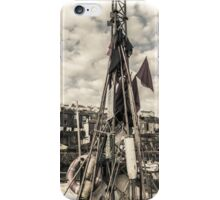 Flags on a Boat - Cornwall iPhone Case/Skin