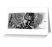 young killian jones Greeting Card