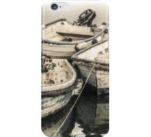 Three Little Boats - Cornwall iPhone Case/Skin