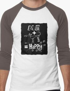 The Happiness Equation Men's Baseball ¾ T-Shirt