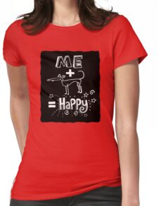 The Happiness Equation Womens Fitted T-Shirt