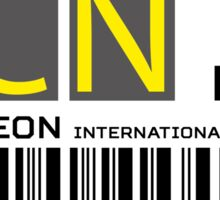 Destination Seoul Airport Sticker