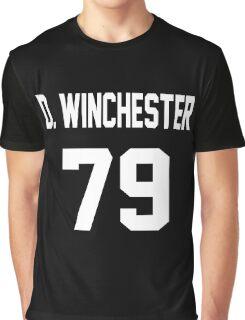 Supernatural Jersey (Dean Winchester) Graphic T-Shirt