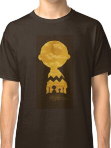 charlie brown zigzag art Classic T-Shirt