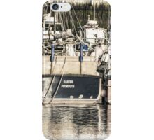 Boats Waiting - Cornwall iPhone Case/Skin